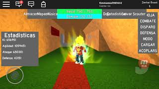 Jugando dragon Ball reg ROBLOX