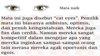 Cara Mengetahui : Mata Dapat Mencerminkan Kepribadian Seseorang