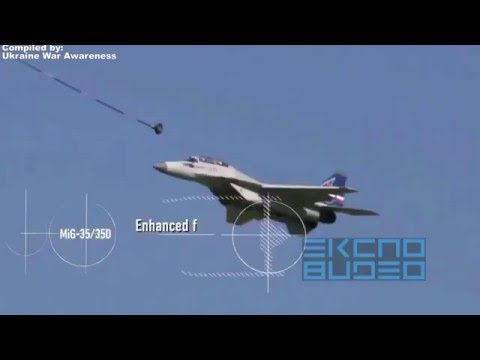 NEW Russian Fighter Jet MIG-35 / MIG-35D Compilation, Specs, & Info