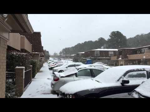 Snow in Little Rock