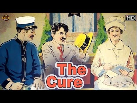 The Cure 1917 - Comedy Movie   Charles Chaplin, Edna Purviance, Eric Campbell