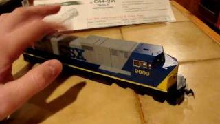 New Kato HO CSX C44-9W Locomotive For My Collection