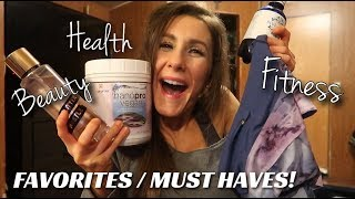 JANUARY FAVORITES! HEALTH, FITNESS & BEAUTY MUST HAVES!