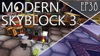 Ep38. Ender IO и автофарм Grains of infinity. Прохождение Modern Skyblock 3: Departed Gated Mode