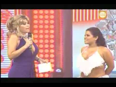 Josetty y Andres Hurtado (CHIBOLIN) en el Gran Show  bailan  Margarita