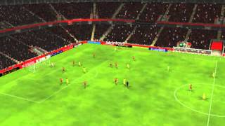 Mallorca x Barcelona - Gol de Pedro 30 minutos