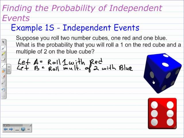 Worksheet #11401394: Independent and Dependent Events Worksheet ...