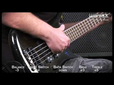 Warwick Sound Examples: The Corvette $$ 5-String - with Andy Irvine