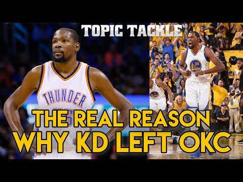 The REAL Reason Why Kevin Durant Left OKC