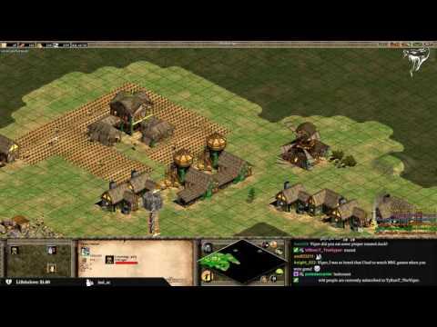 3v3 Arabia - Britons Flank