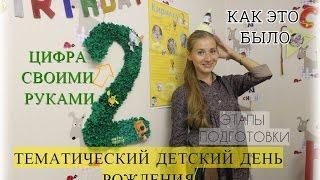 видео Как отметить первый день рождения ребенка: этапы организации
