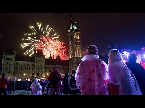 Big celebrations on Parliament Hill for Canada Day
