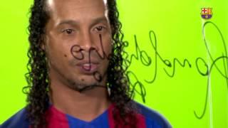 [BEHIND THE SCENES]Ronaldinho returns home