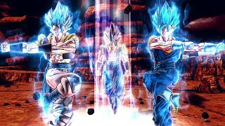 Vegito & Gogeta Fusion Dance for the First Time In Dragon Ball Xenoverse 2 Mods