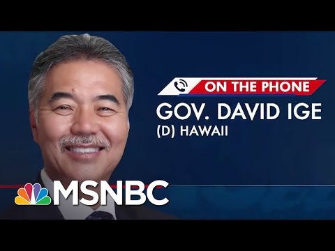 Hawaii Governor: President Trump
