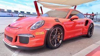 My First Track Day with the GT3RS