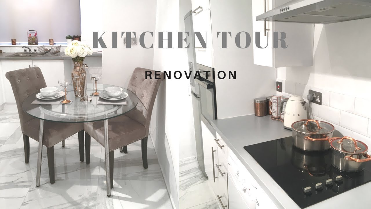 MY KITCHEN TOUR /LUXURY RENOVATION| Tons Of Tiles | Designing My ...