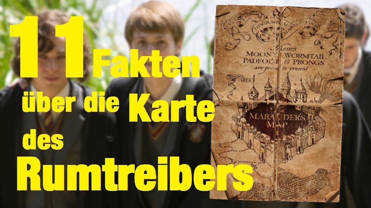 Harry Potter Karte Des Rumtreibers Spruch.11 Fakten über Die Karte Des Rumtreibers