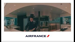 360° video of the lounge in terminal T2, Hall L at CDG