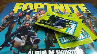 MÁS FORTNITE!!! ÁLBUM Y FIGURITAS (REVIEW)