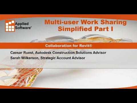 Multi-user Work Sharing Simplified Part I: Collaboration for Revit®