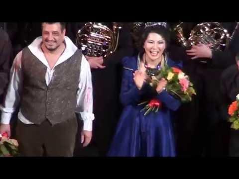 Aplauze pentru Tosca, aplauze pentru Opera din Iasi la a 60-a aniversare! La multi ani!