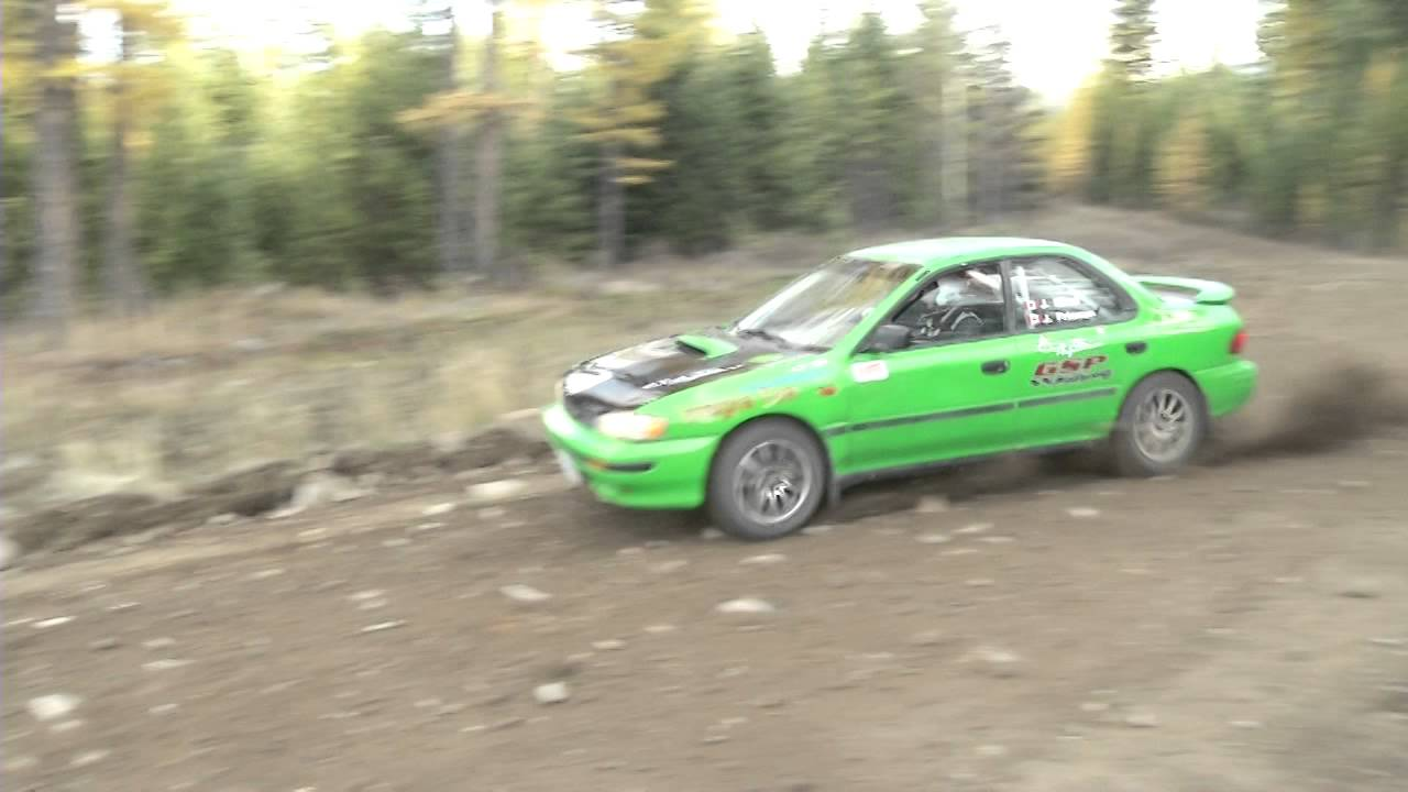Rally Driving in the Kootenays - YouTube