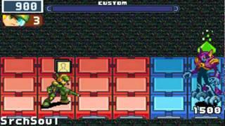 MegaMan Battle Network 4: Red Sun - ShadeMan Ω
