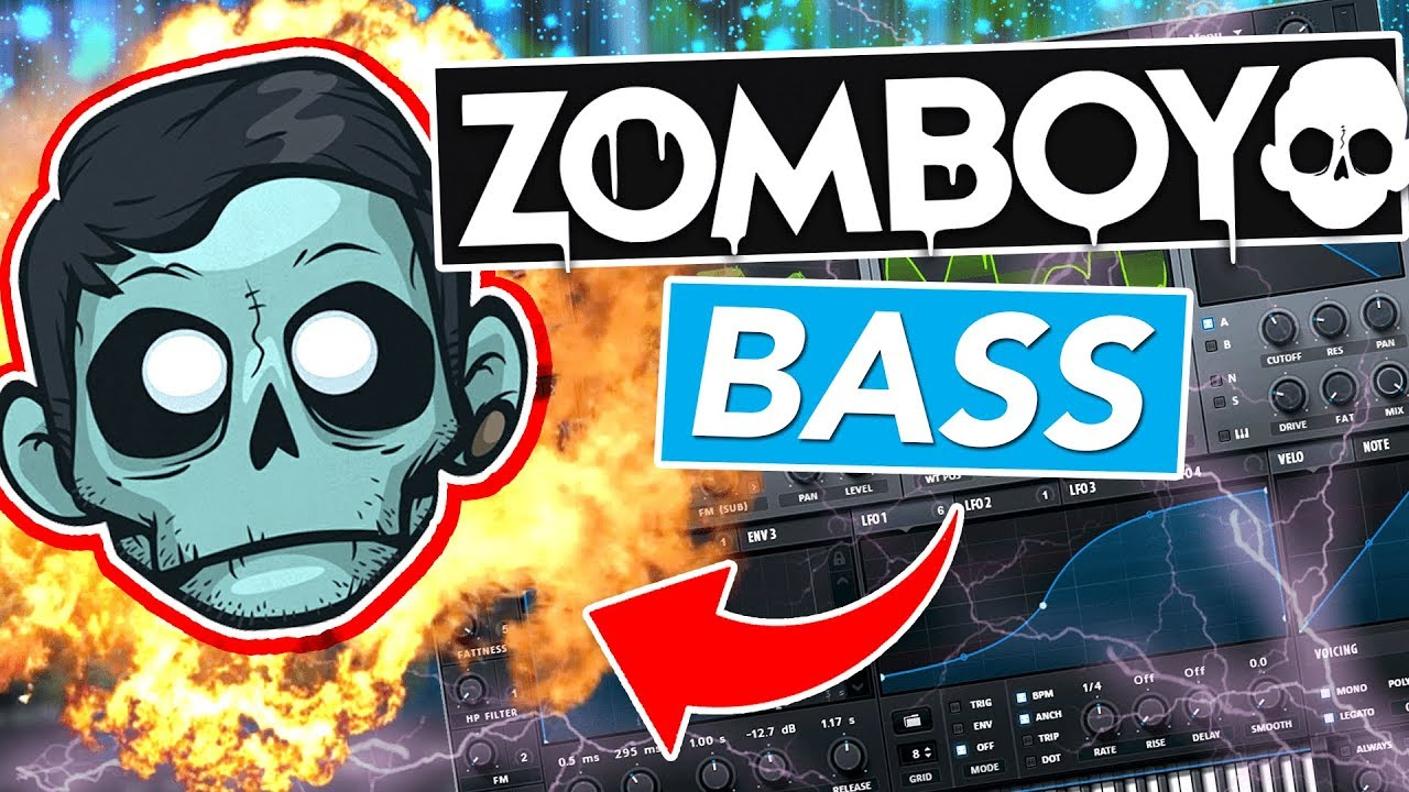 "ZOMBOY ""REBEL BASS"" MEGA DROP TUTORIAL"