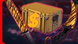 ABRI 600$ EM CAIXA E GANHEI 2 FACAS DE 700$ [CS:GO OPEN CASE]