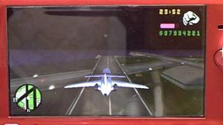Bei GTA vice city stories ins große Flugzeug (PSP)