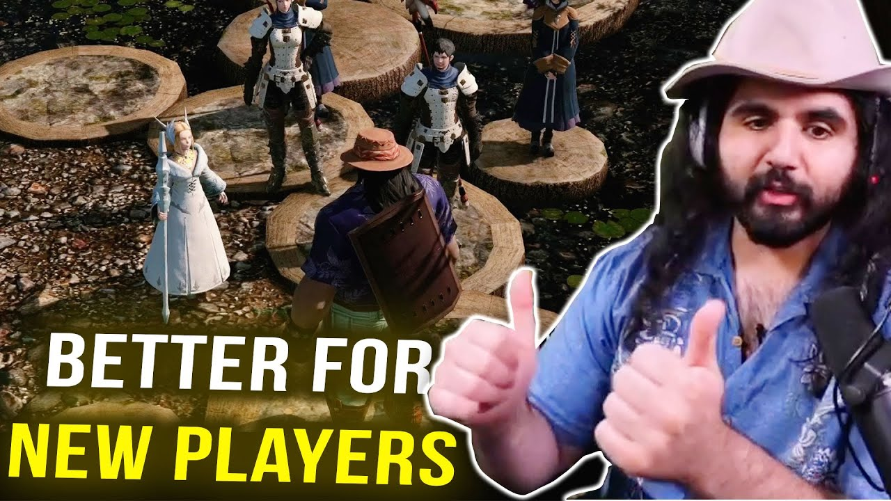 """New Player Experience in FF XIV is """"WAY BETTER""""   Final Fantasy 14 Best Moments"""