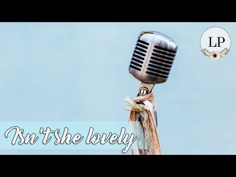 ÁUDIO 05 - Isnt she lovely Stevie Wonder - Música para Casar por Lorenza Pozza