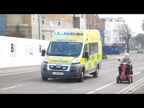 Bristol Ambulance // Peugeot // Responding in Bournemouth