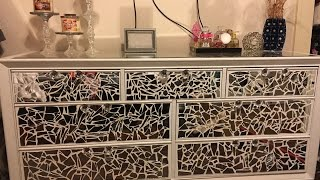 DIY: Mirrored Dresser