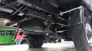 Обзор УАЗ Профи - задний привод, рама, подвеска, ходовая | Комтранс 2017