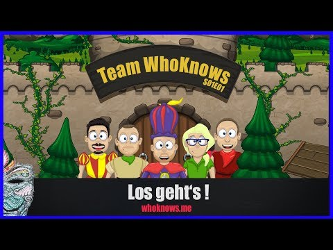 ✴ Team WhoKnows?! #1 - Los geht's! ✴