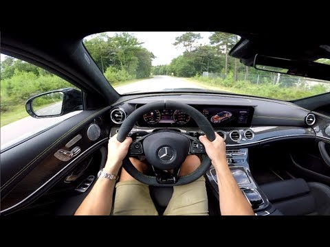POV Drive: 2017 Mercedes-AMG E63 S 4MATIC+ ACCELERATIONS & LAUNCH CONTROL!