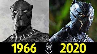 Черная Пантера - Эволюция (1966 - 2020) ! История Короля ТЧаллы !