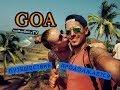 Вечерний Калангут/ Гоа (Индия). Ноябрь 2013-2014. Влог №5/ Goa Indian (HD)