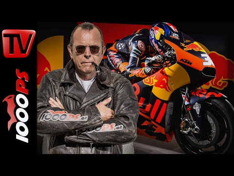 1000PS News - KTM MotoGP Factory Team Präsentation / Podium 2017? / Pierer und Honda