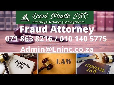 Fraud attorney Johannesburg - Johannesburg South-African Fraud attorney