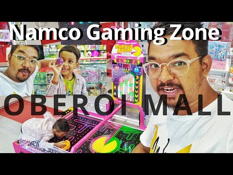 NAMCO GAMING ZONE   LUXURIOUS OBEROI MALL   Shot By Amit