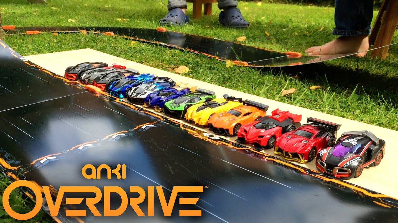 anki overdrive track tips day night wet and garden. Black Bedroom Furniture Sets. Home Design Ideas