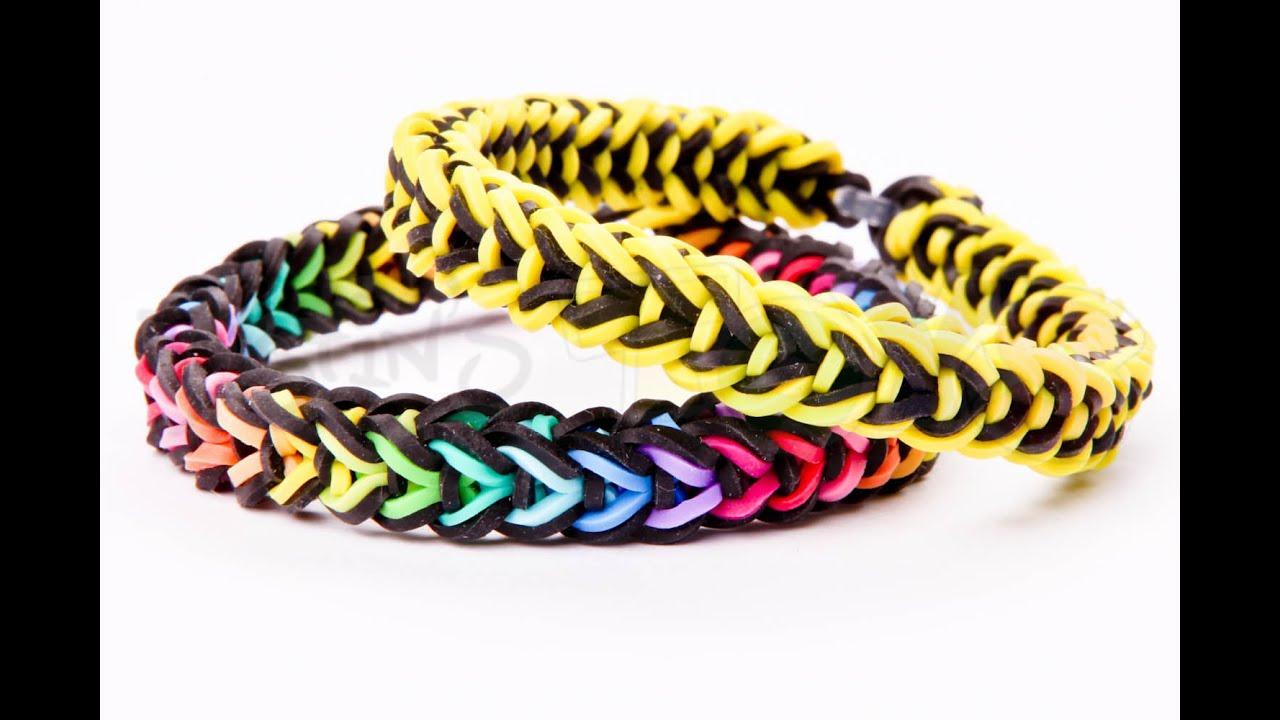 Oliver Queen Rainbow Loom Bracelet Tutorial Intermediate Justinstoyshybrid Youtube