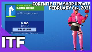 Fortnite Item Shop *NEW* CUDDLE KING SKIN + EMOTE! [February 8th, 2021] (Fortnite Battle Royale)