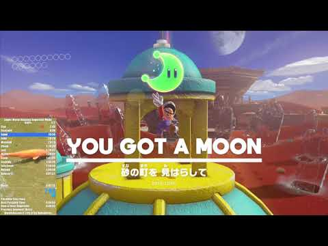 Super Mario Odyssey Superstar Mode R2 Any% Speedrun in 1:27:36