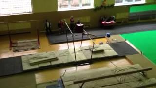 Спортивная гимнастика, брусья, 3-й разряд
