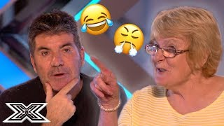 Simon Cowell Gets TOLD OFF By Contestant For Being RUDE | X Factor Global