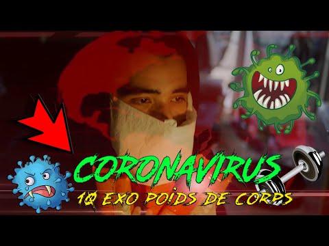 #CORONAVIRUS - 10 EXERCICE A FAIRE A LA MAISON - SALLE DE #MUSCULATION FERME
